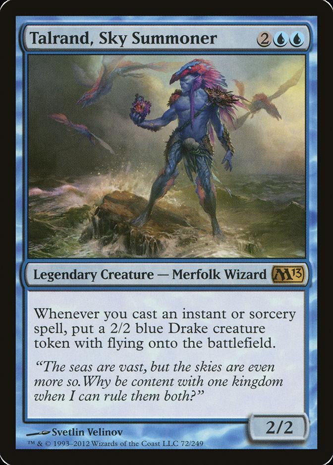 Talrand, Sky Summoner [M13] (F)