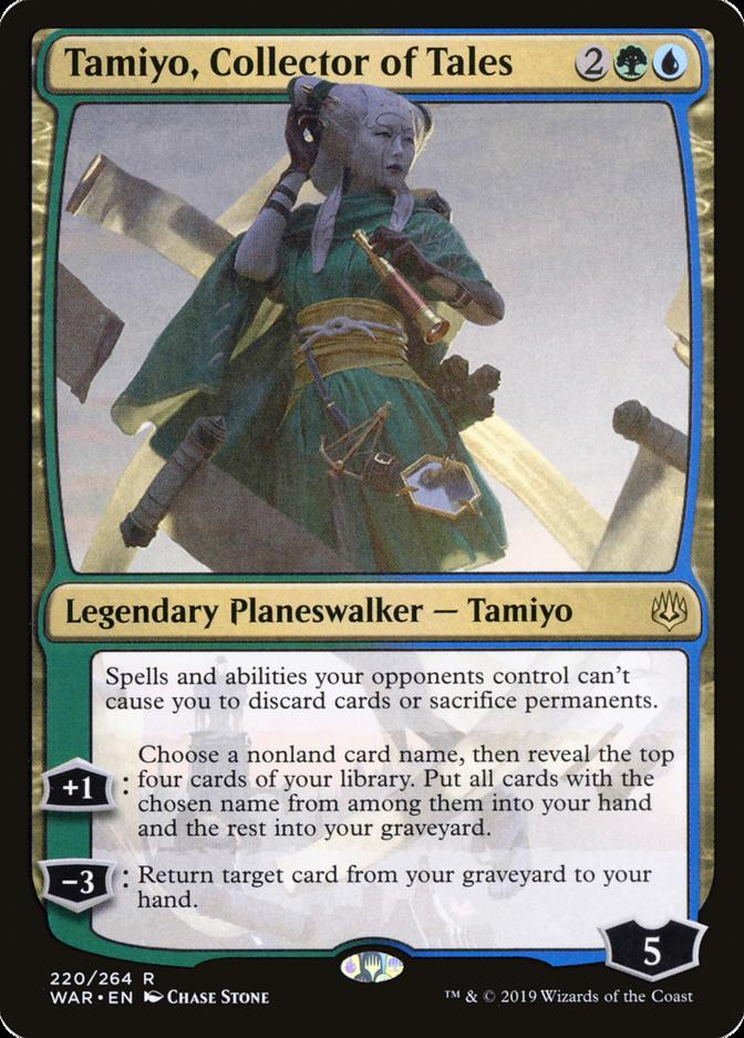 Tamiyo, Collector of Tales [WAR]