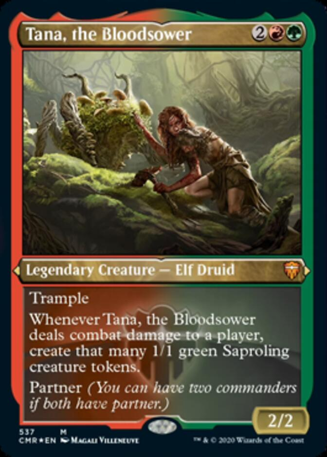 Tana, the Bloodsower <etched> [CMR] (F)