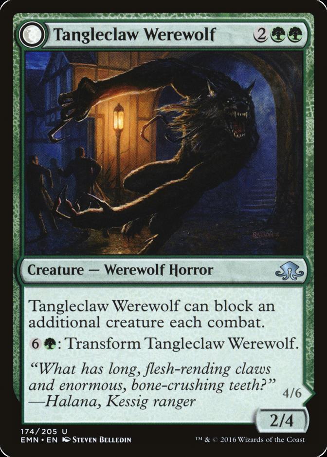 Tangleclaw Werewolf [EMN]