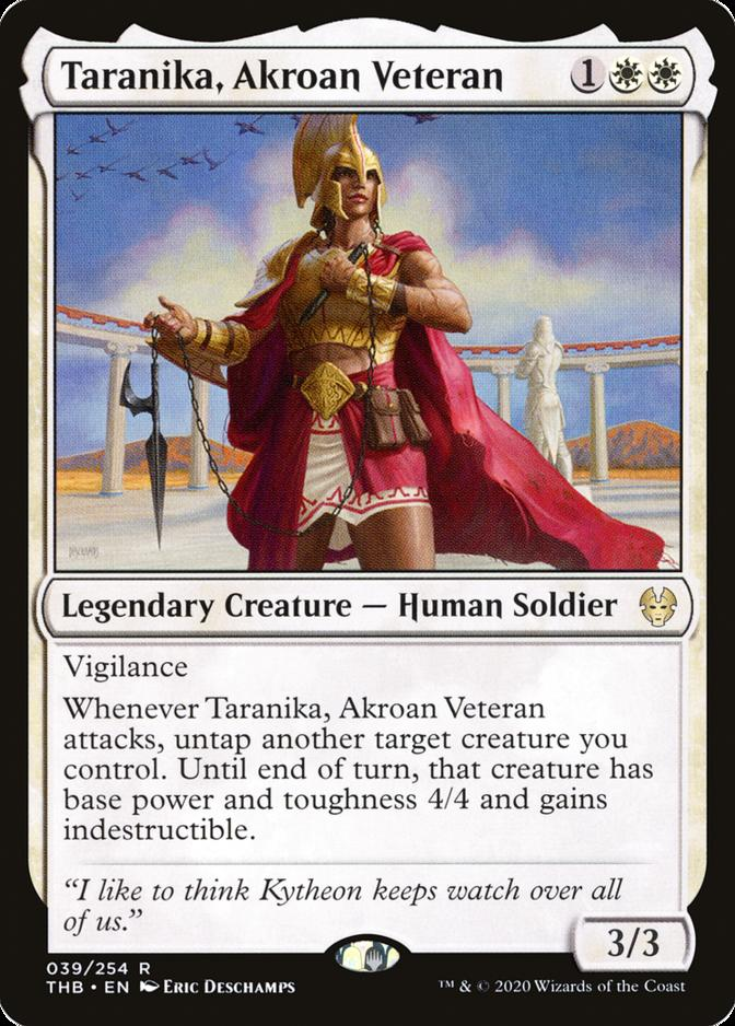 Taranika, Akroan Veteran [THB]