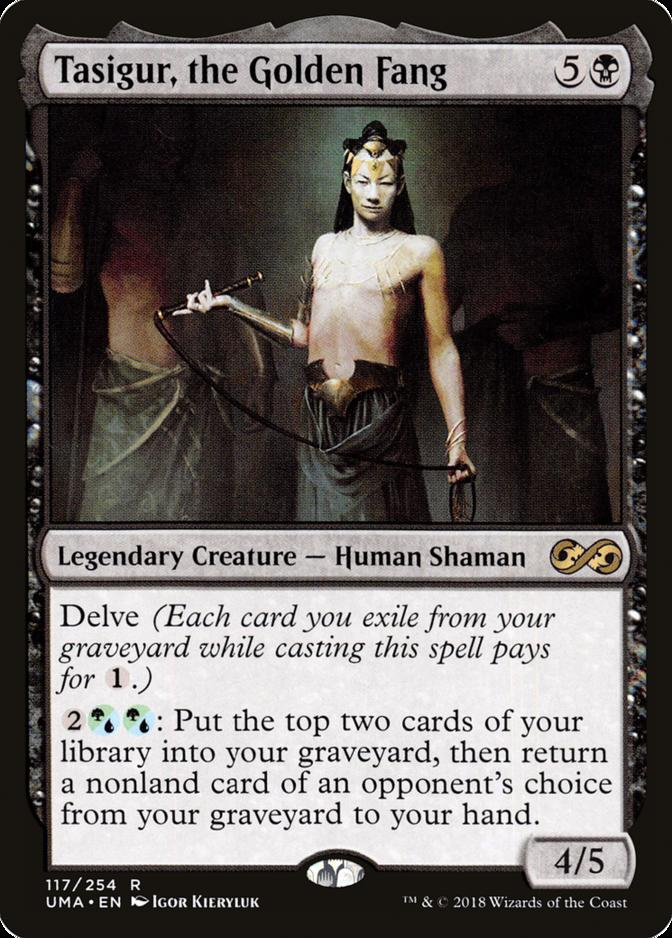 Tasigur, the Golden Fang [UMA]