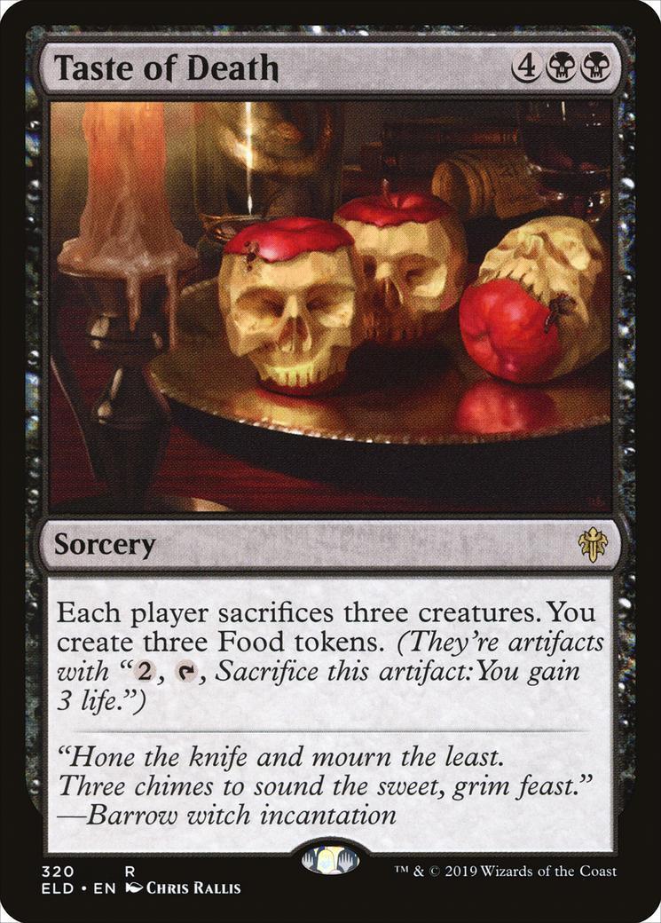 Taste of Death [ELD]