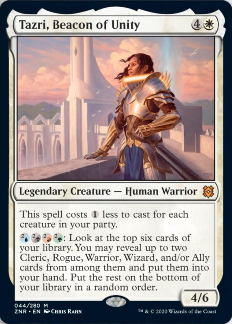 Tazri, Beacon of Unity [ZNR]