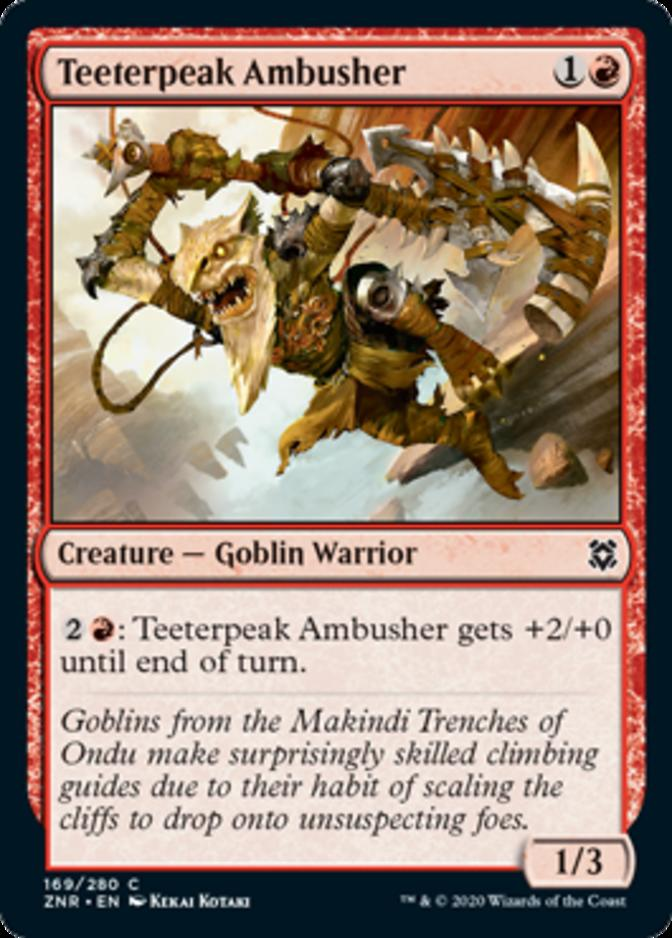 Teeterpeak Ambusher [ZNR]