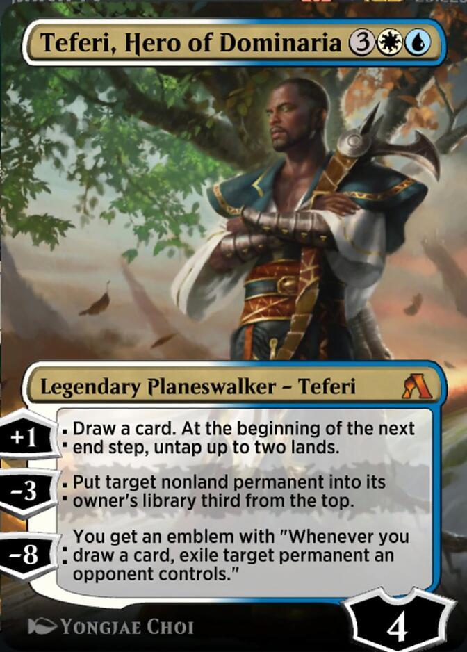 Teferi, Hero of Dominaria <magic arena> [DOM]