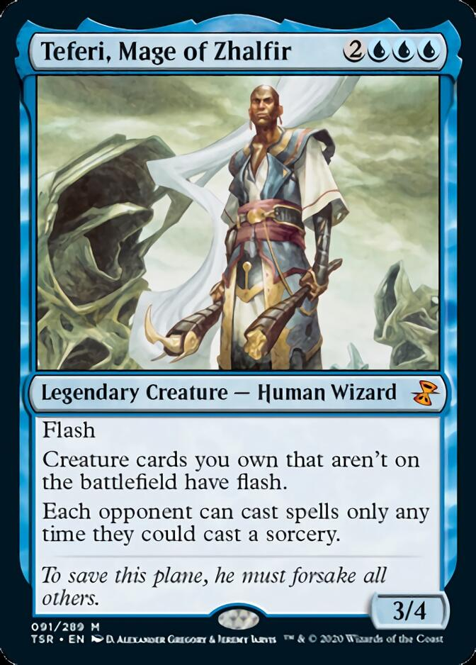 Teferi, Mage of Zhalfir [TSR]