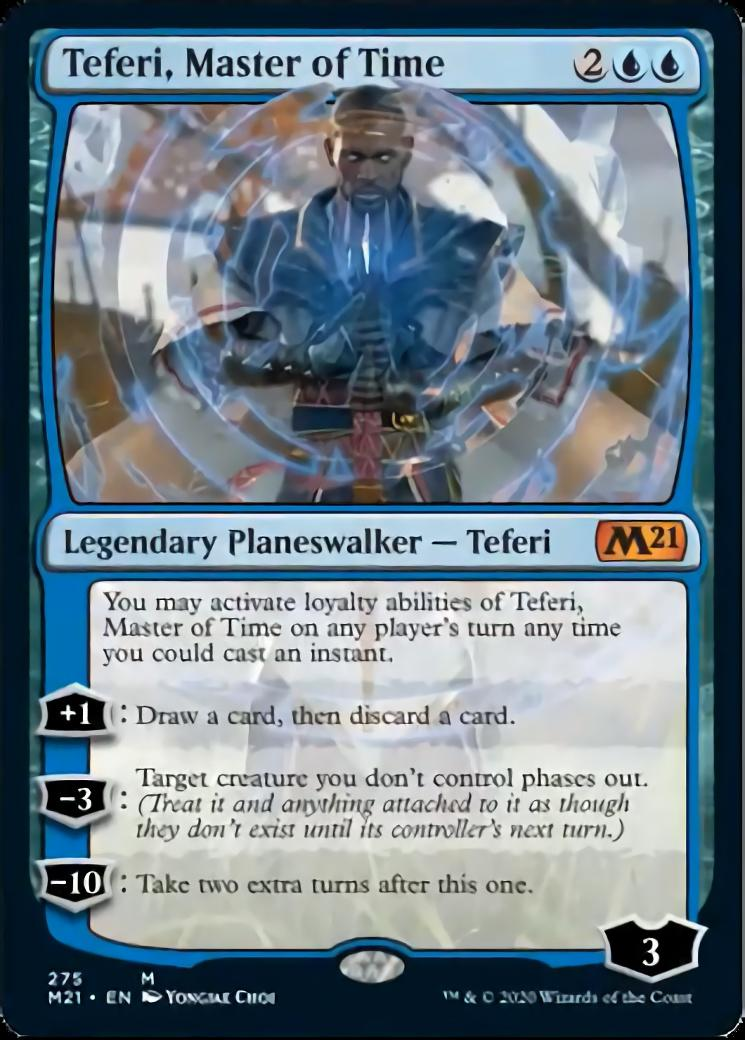 Teferi, Master of Time <275> [PM21]