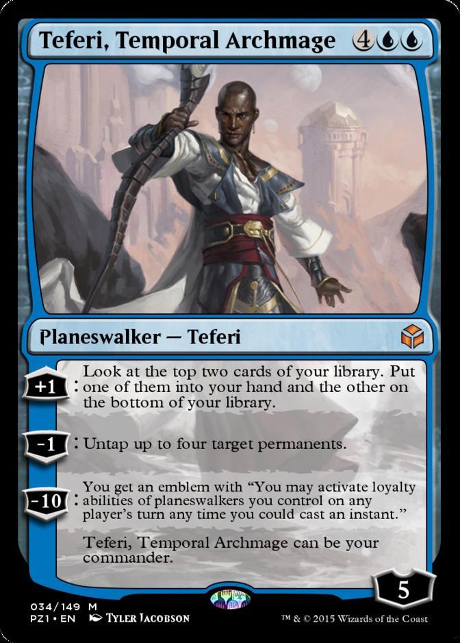 Teferi, Temporal Archmage [PZ1]