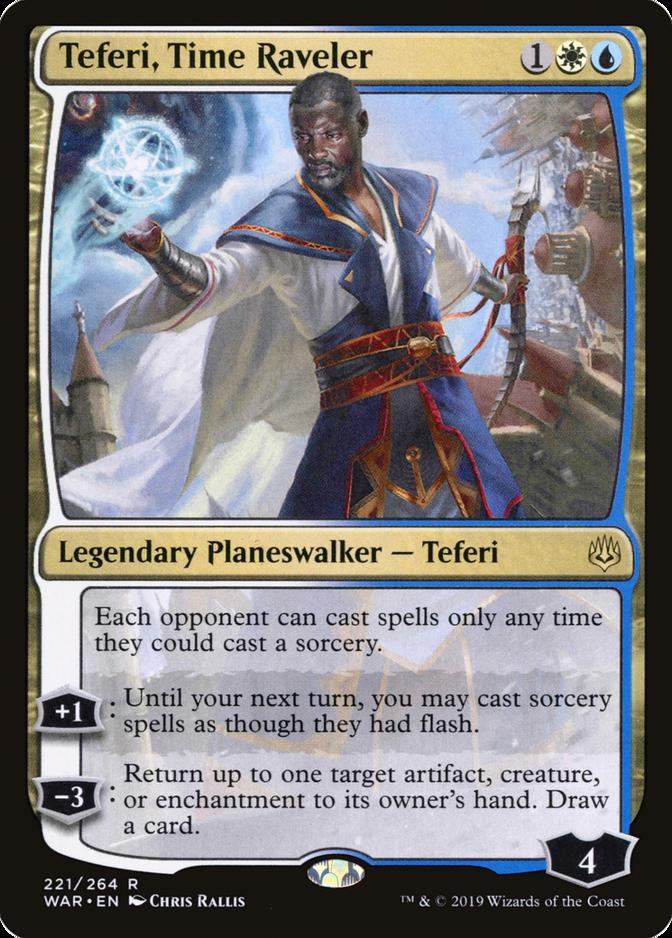 Teferi, Time Raveler [WAR]