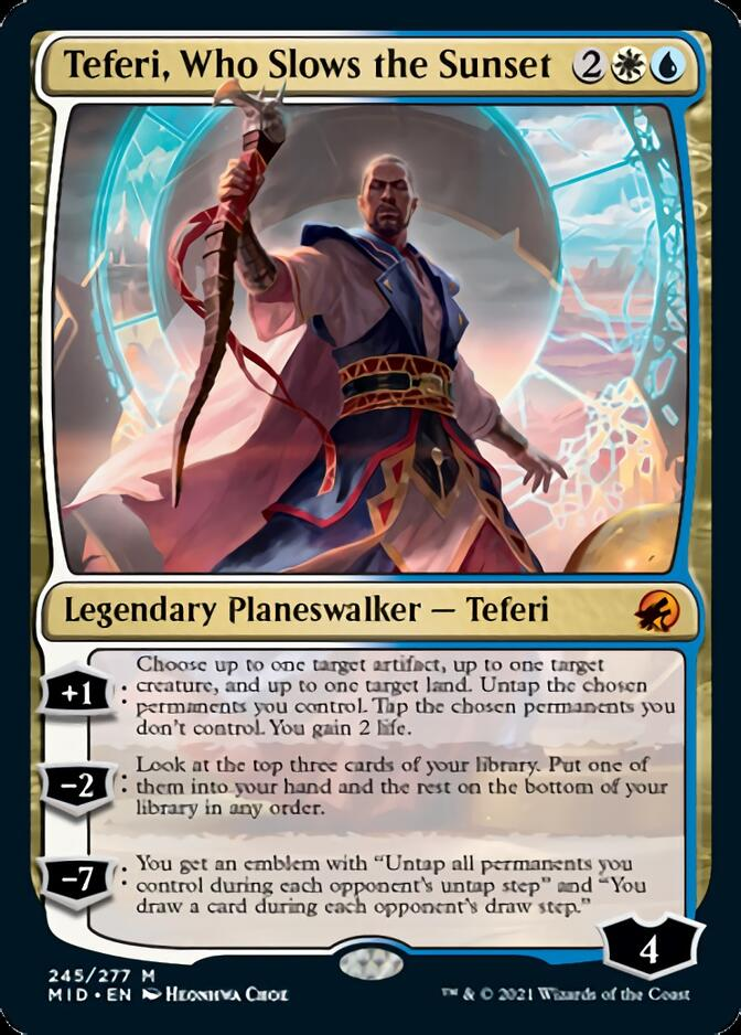 Teferi, Who Slows the Sunset [MID]
