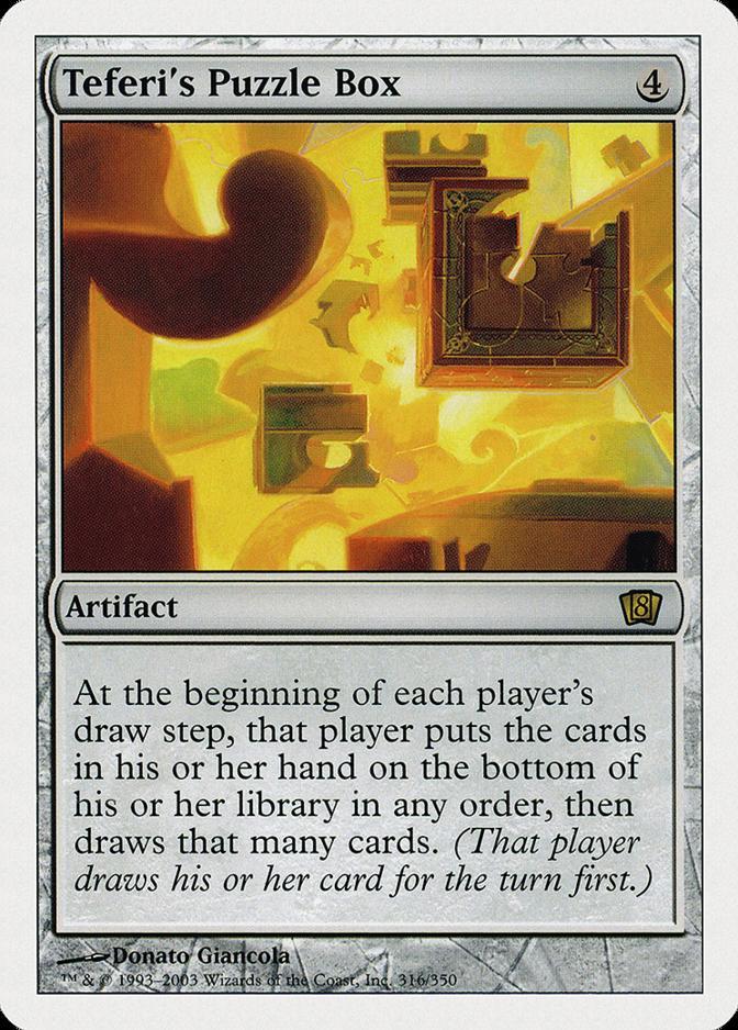 Teferi's Puzzle Box [8ED]