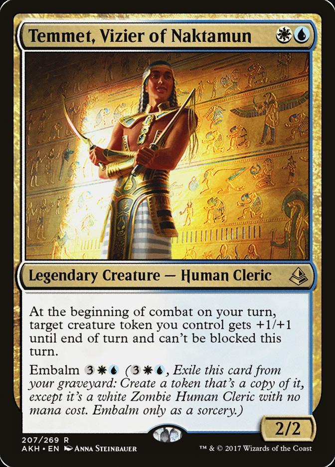 Temmet, Vizier of Naktamun [AKH]