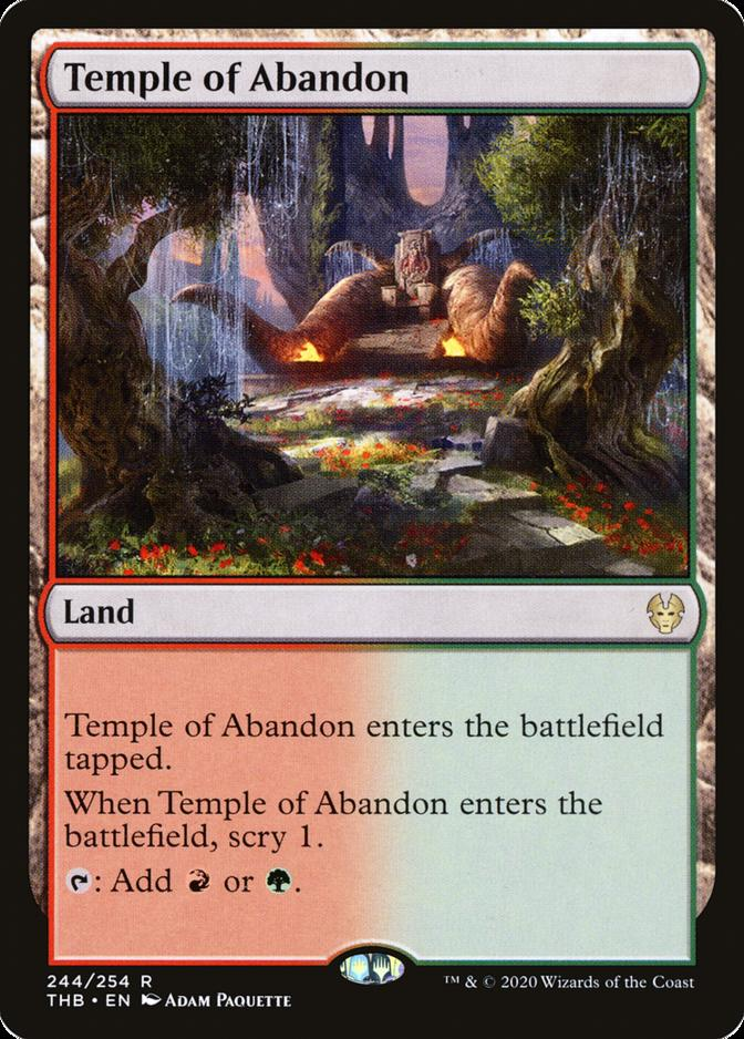 Temple of Abandon [THB]