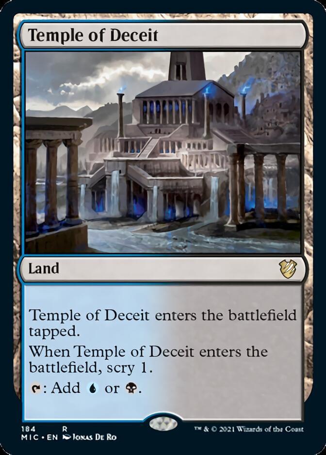 Temple of Deceit [MIC]