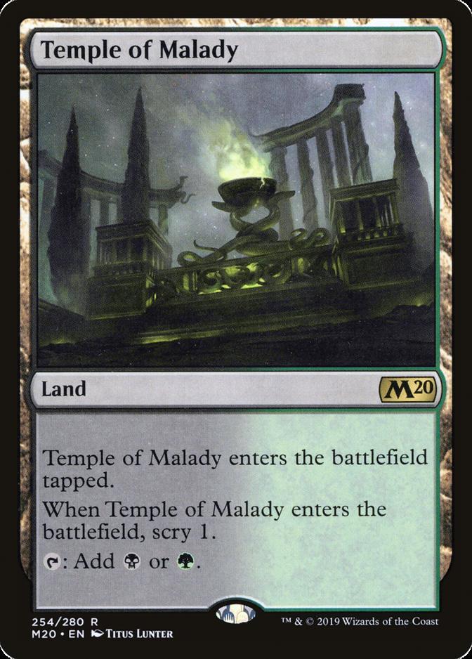 Temple of Malady [M20]