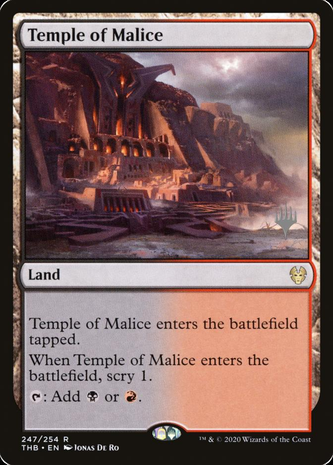Temple of Malice [PPTHB] (F)