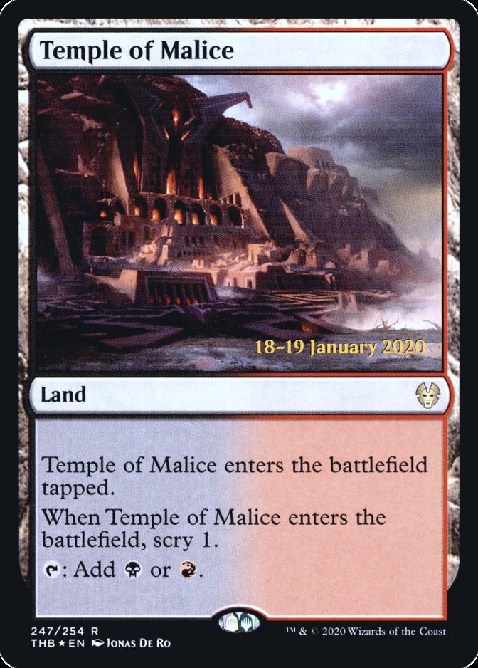 Temple of Malice [PRM-PRE] (F)