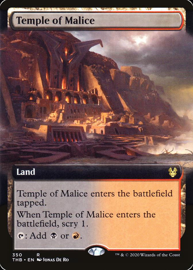 Temple of Malice [PTHB]
