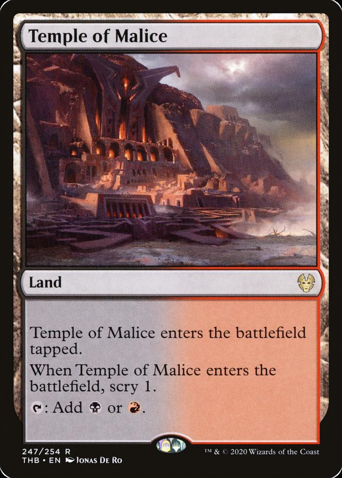 Temple of Malice [THB] (F)