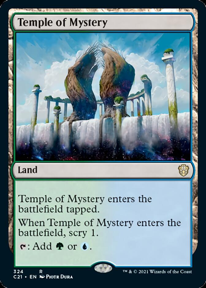 Temple of Mystery [C21]