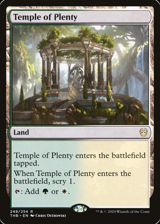 Temple of Plenty [THB]