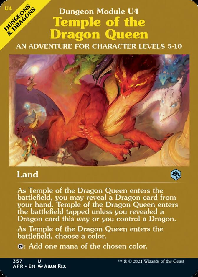 Temple of the Dragon Queen <classic module> [AFR]