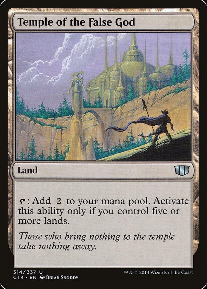 Temple of the False God [C14] (F)