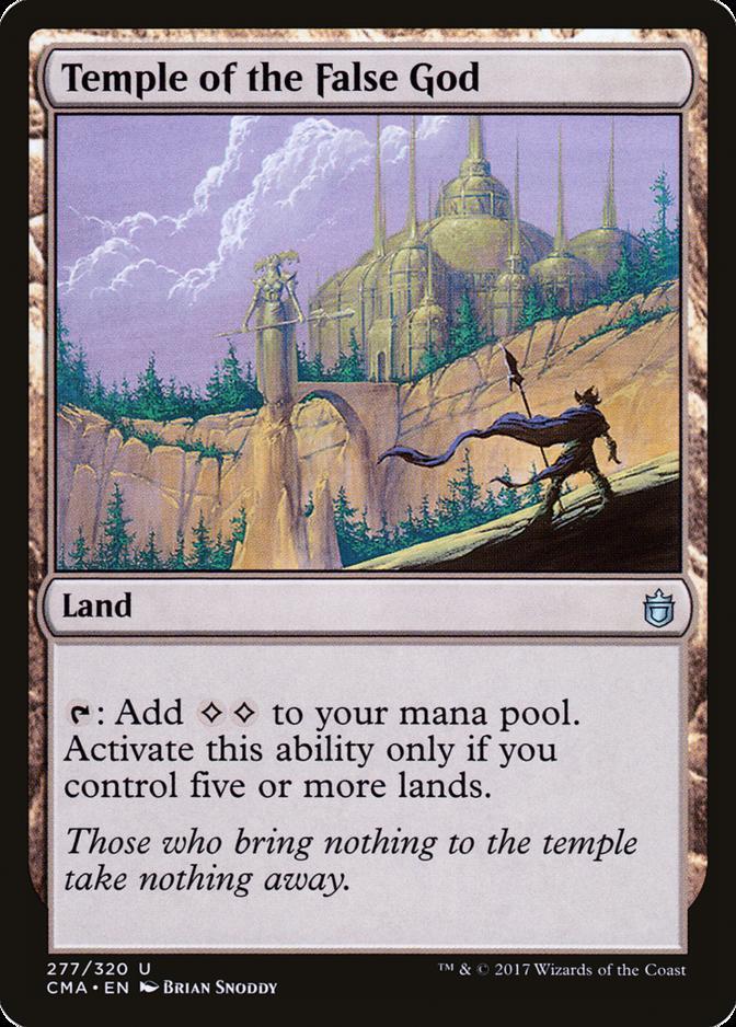 Temple of the False God [CMA]