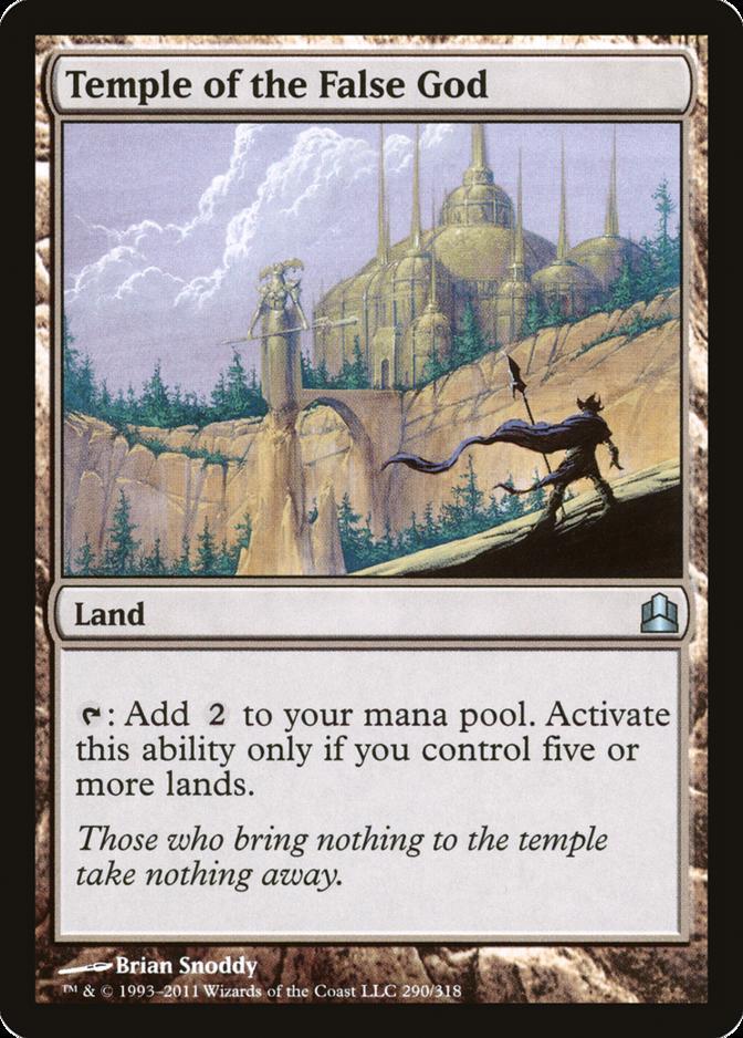 Temple of the False God [CMD]