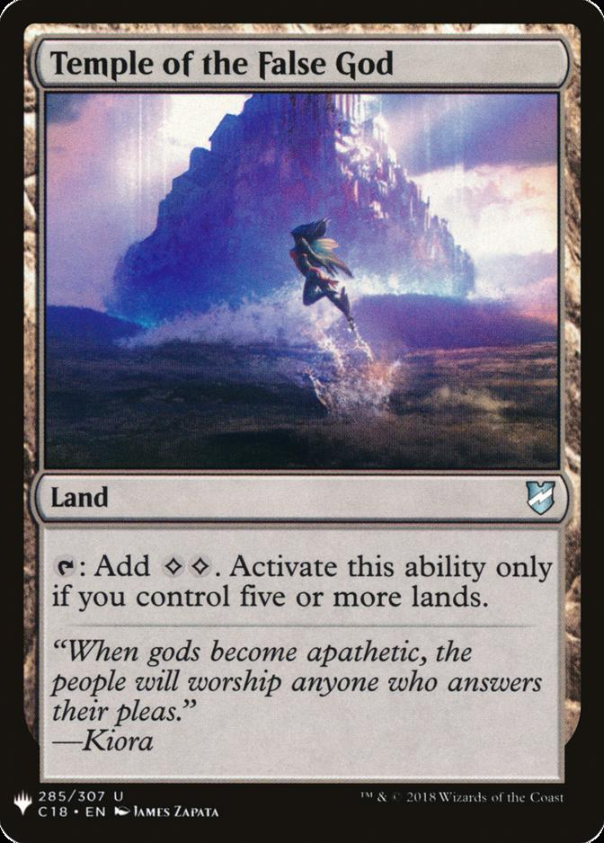 Temple of the False God [MB1]
