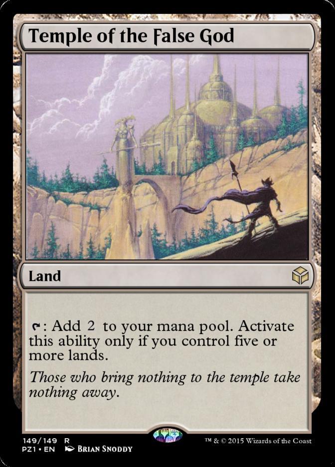 Temple of the False God [PZ1]
