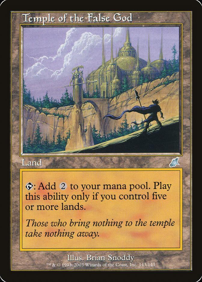 Temple of the False God [SCG] (F)