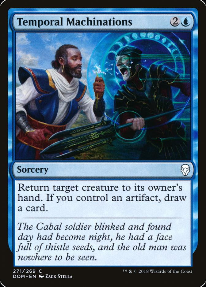 Temporal Machinations [DOM]