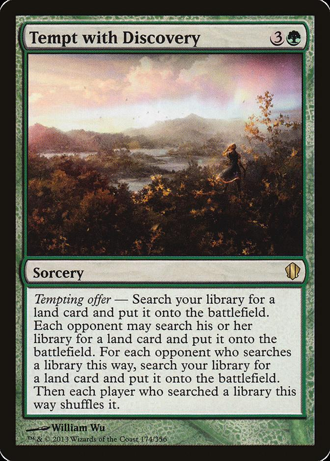 Tempt with Discovery [C13]