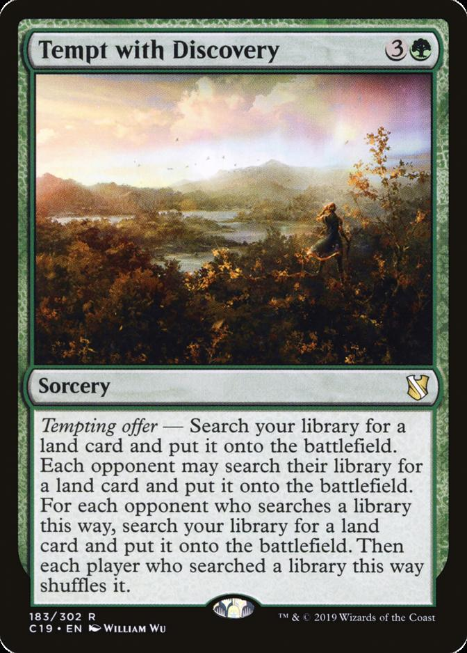 Tempt with Discovery [C19]