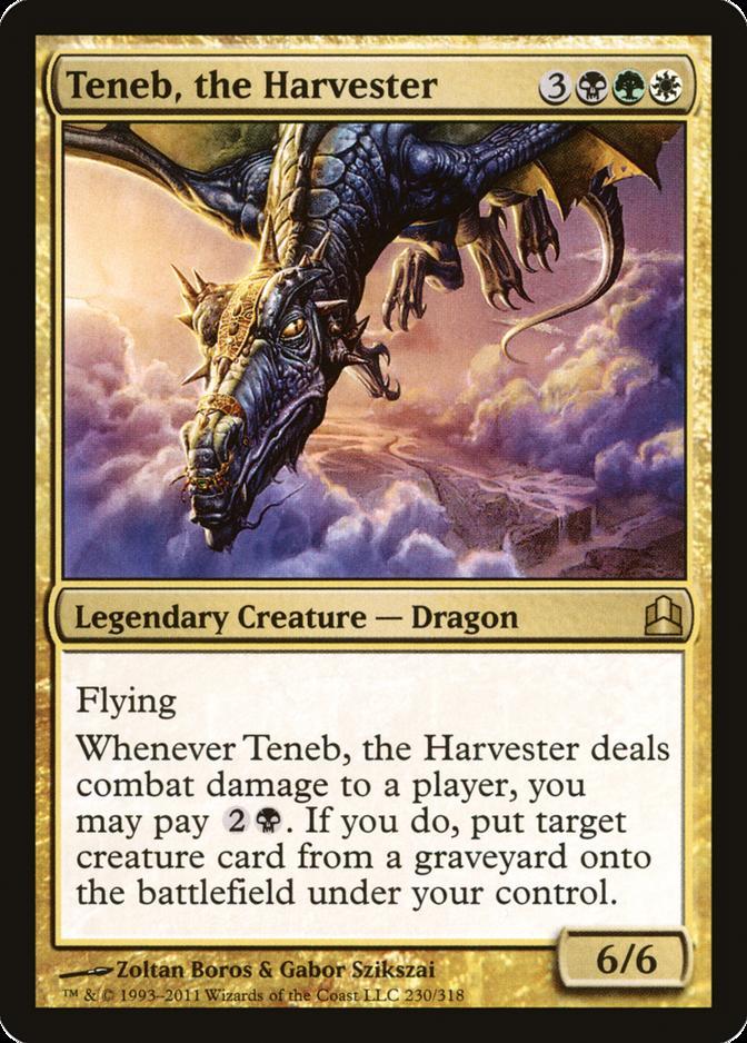 Teneb, the Harvester [CMD]