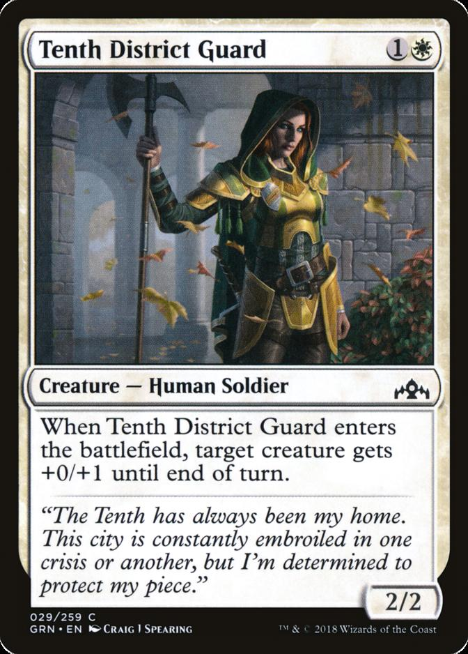 Tenth District Guard [GRN]