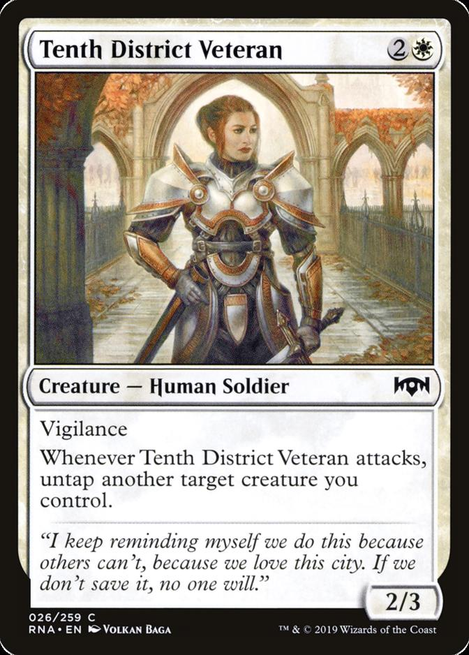 Tenth District Veteran [RNA]
