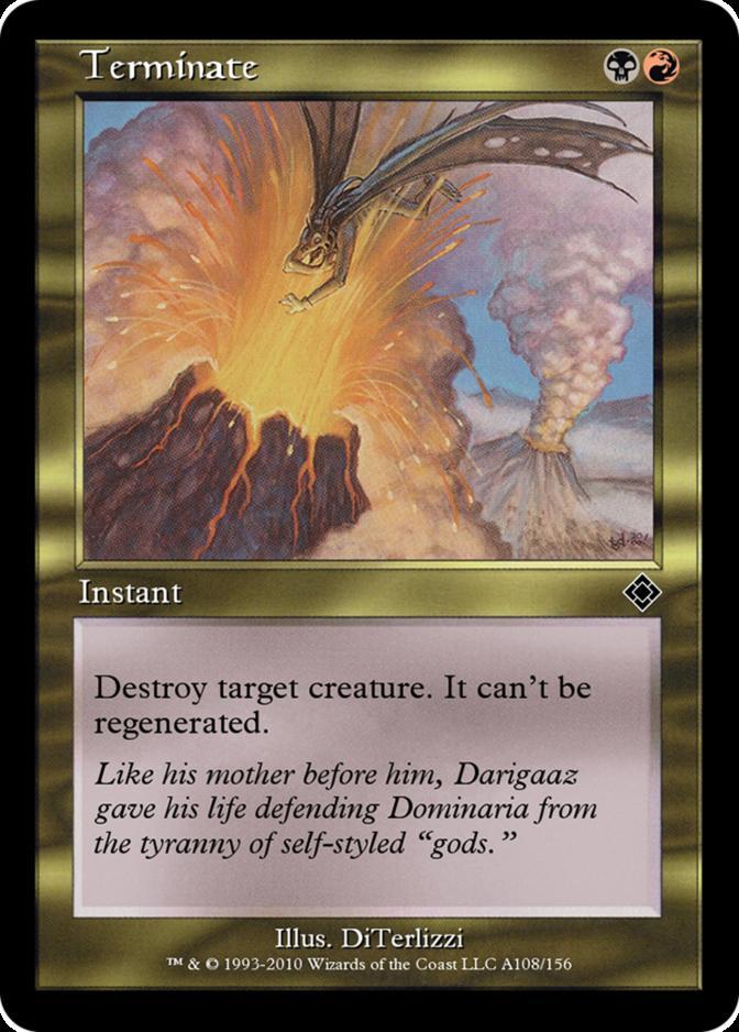 Terminate [TD0]