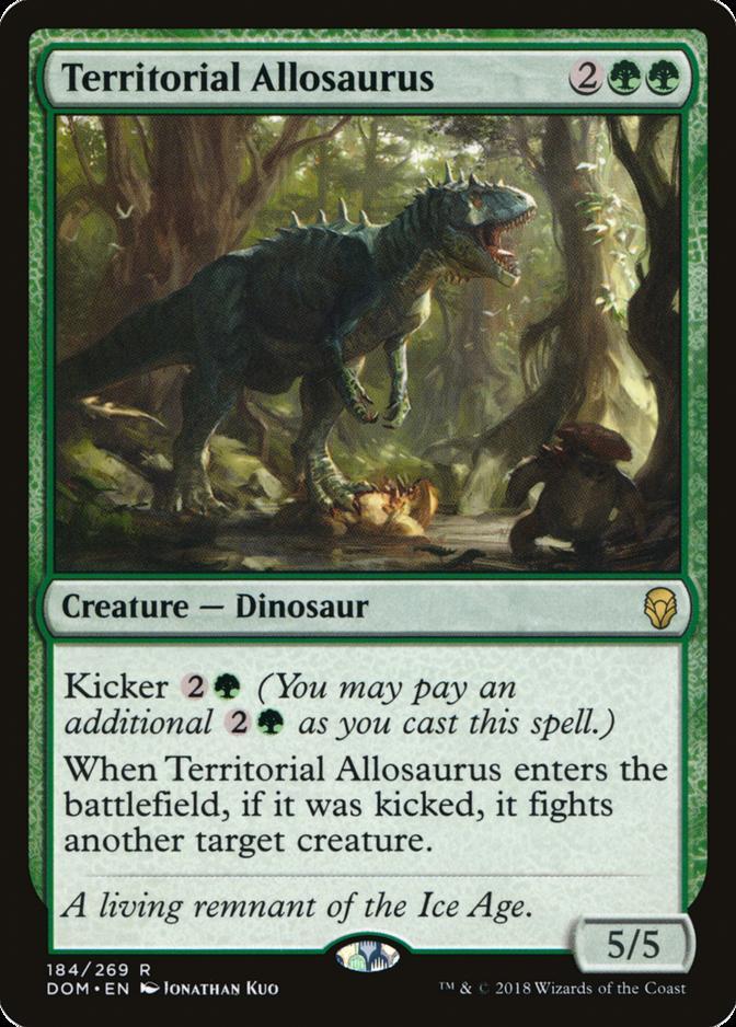 Territorial Allosaurus [DOM]