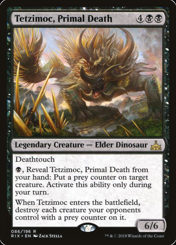 Tetzimoc, Primal Death [RIX]