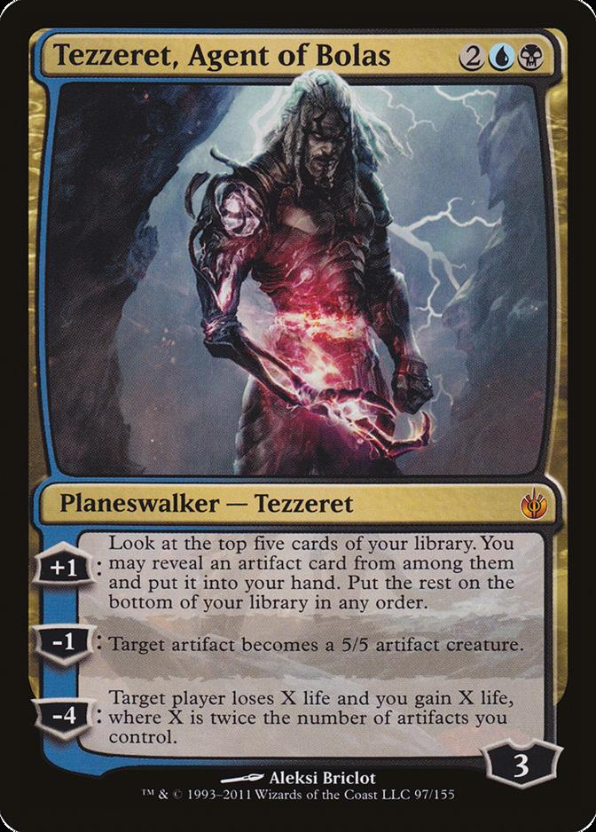 Tezzeret, Agent of Bolas [MBS]
