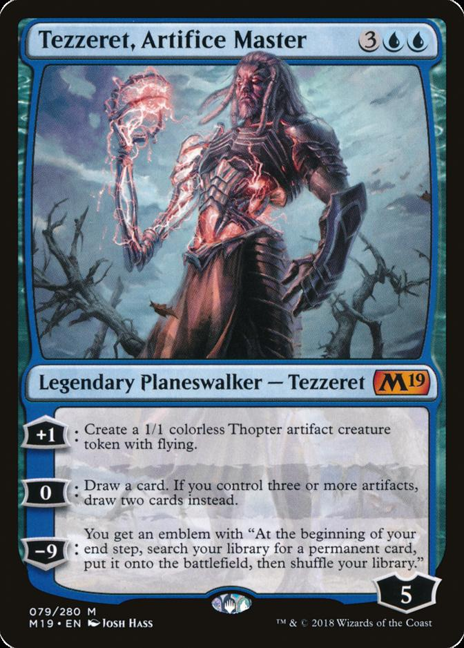Tezzeret, Artifice Master [M19]