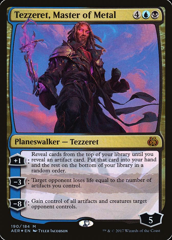 Tezzeret, Master of Metal [AER] (F)