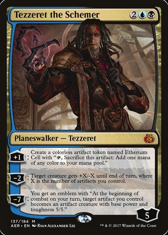 Tezzeret the Schemer [AER]