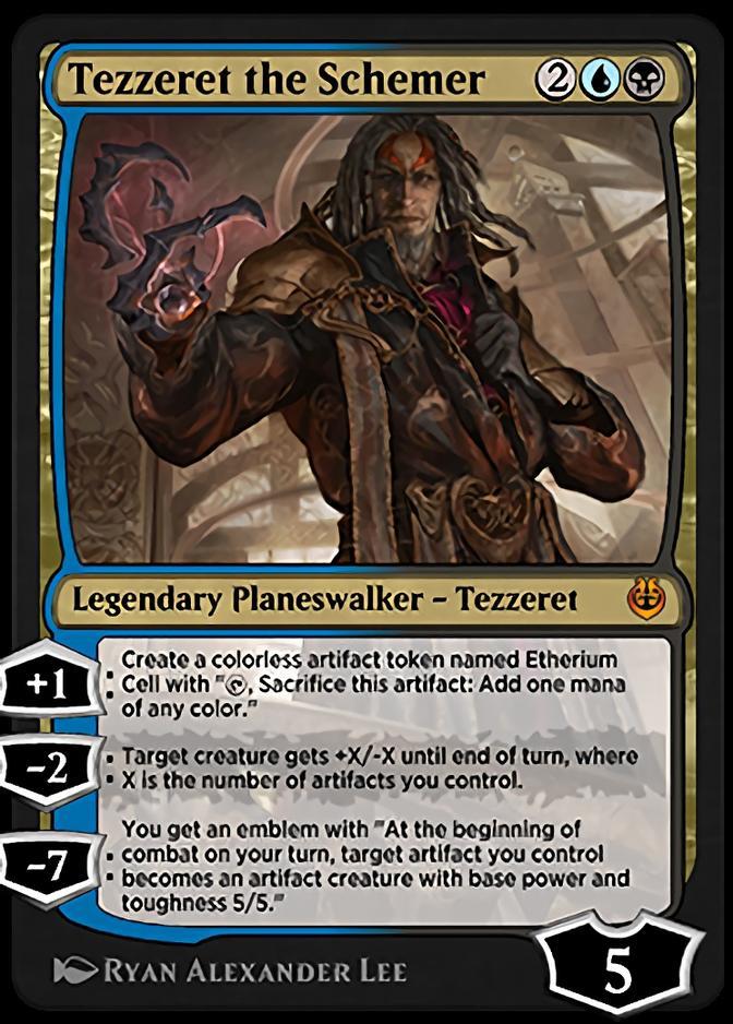 Tezzeret the Schemer [KLR]