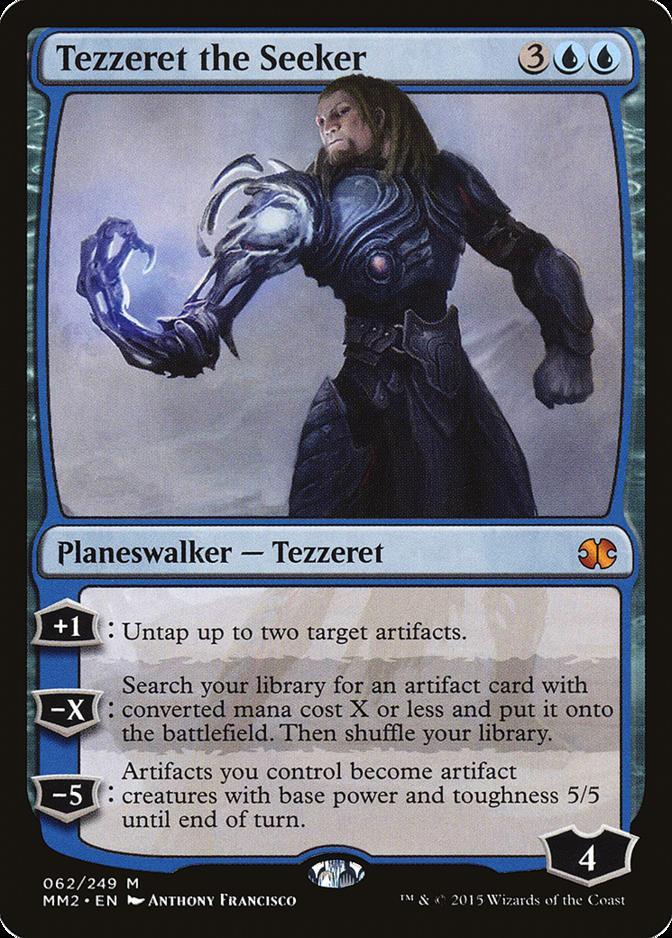 Tezzeret the Seeker [MM2]