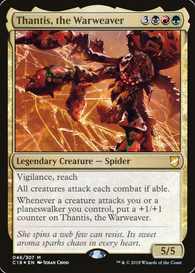 Thantis, the Warweaver [C18] (F)