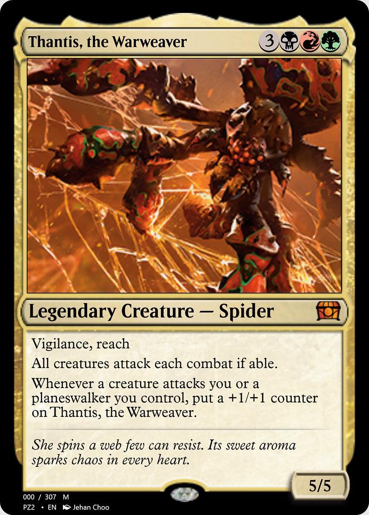 Thantis, the Warweaver [PZ2] (F)